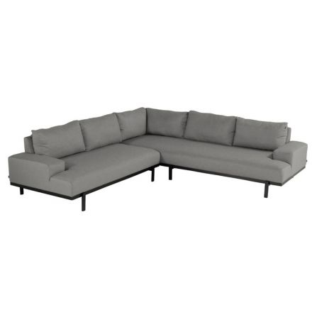 Lucas Corn. Lounge sofa 3-Sitzer mid grey
