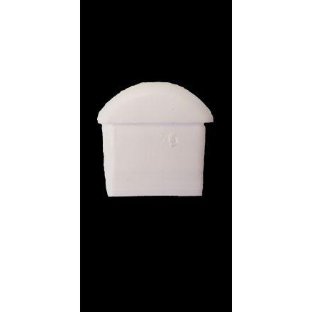 Fußkappe weiß für Aluliegen