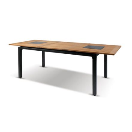 Concept-Ausziehtisch 240/180x100cm - Granit/Xerix