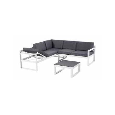 Perpignan Lounge-Set - royal white