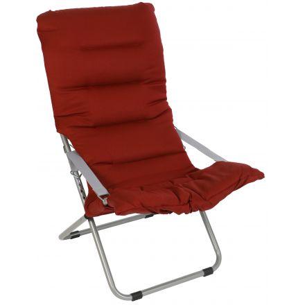 Lounge-Sessel Fiesta Soft Dralon Kabana red