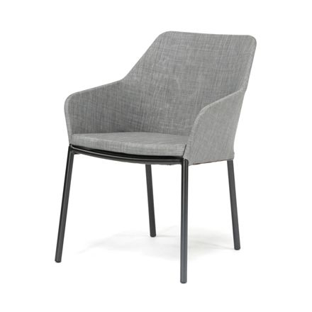 Alu Comfort Manhattan - Textilene grey