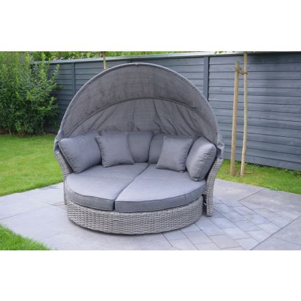 Seattle Grey Lounge Bed