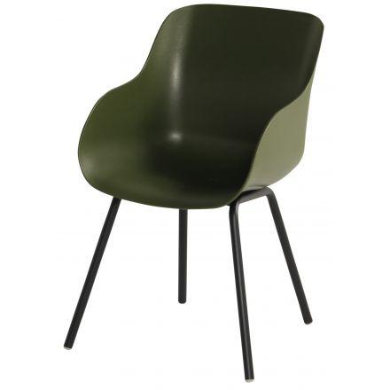 Sophie Rondo Organic Chair moss green